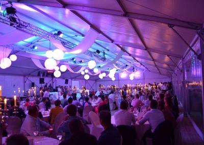 0106 Kadertent 15m huwelijksfeest met decoratieve truss