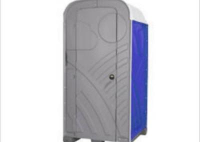 0204 Chemische toiletcabine (standaard/VIP/met lichtmast)