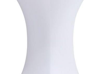 0310 Statafel linnen stretch wit