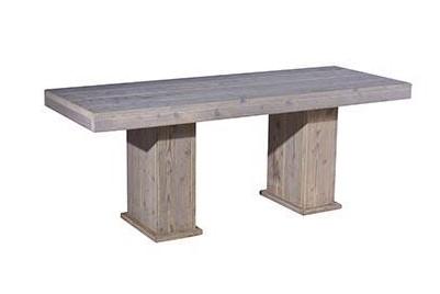 Steigerhouten zittafel 180x80cm
