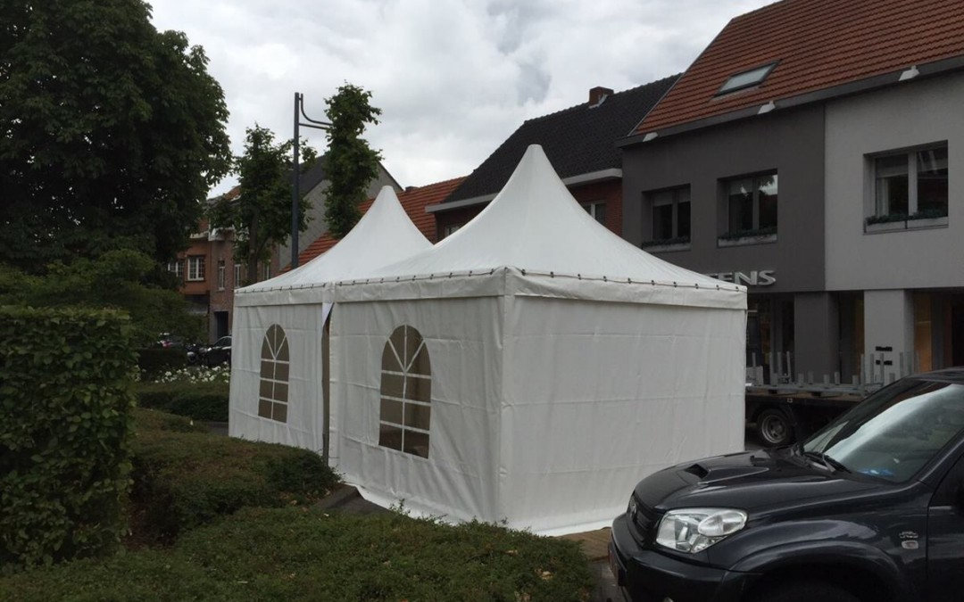 0101 VIP-tent 3×3