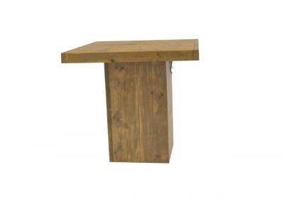 steigerhouten tafel