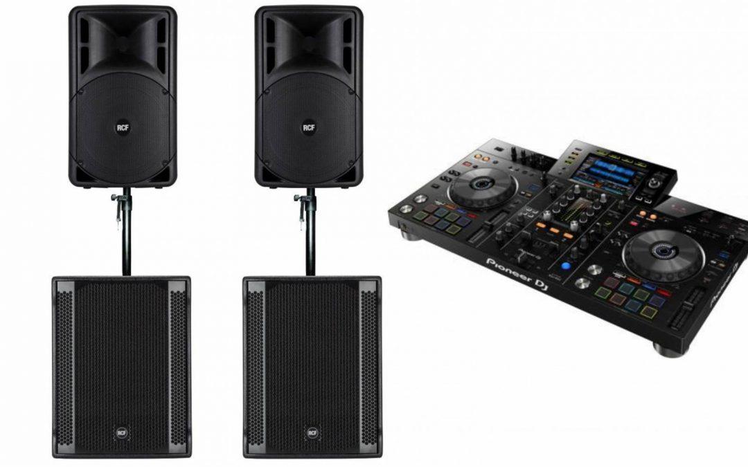 0804 DJ-installatie